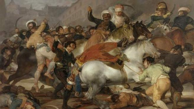 Cuadro de Francisco de Goya 'El 2 de mayo de 1808 en Madrid' o también llamado 'La carga de los mamelucos'.