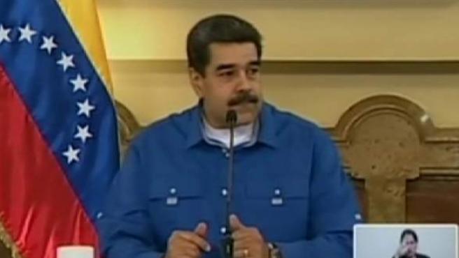 Nicolás Maduro, ha negado tajantemente su intención de abandonar el país tras los incidentes de las últimas horas.