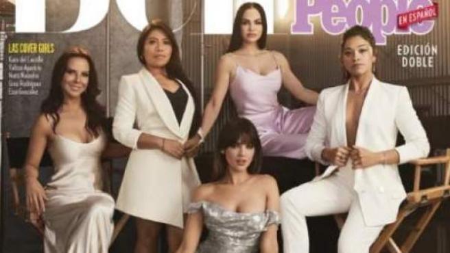 Portada de la revista 'People' en español con las latinas más bellas.