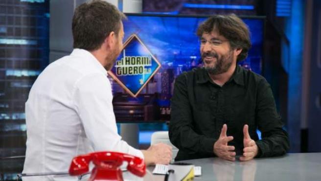 Jordi Évole, en 'El hormiguero'.