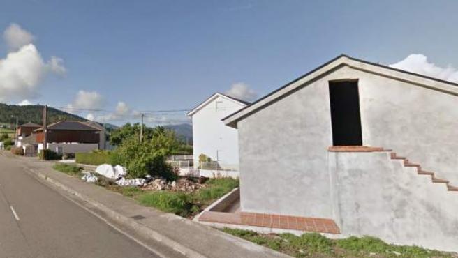 Imagen de la localidad de Barcia, en el concejo de Valdés, Asturias.