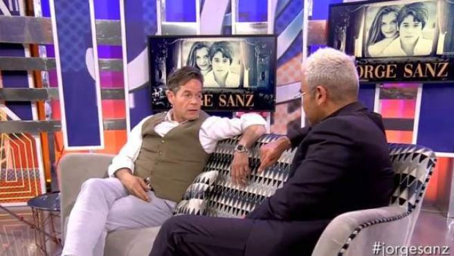 Jorge Sanz, entrevistado en 'Sábado Deluxe'.