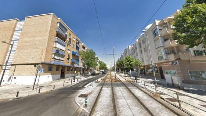 Imagen de la calle Reyes Católicos en Parla (Madrid).