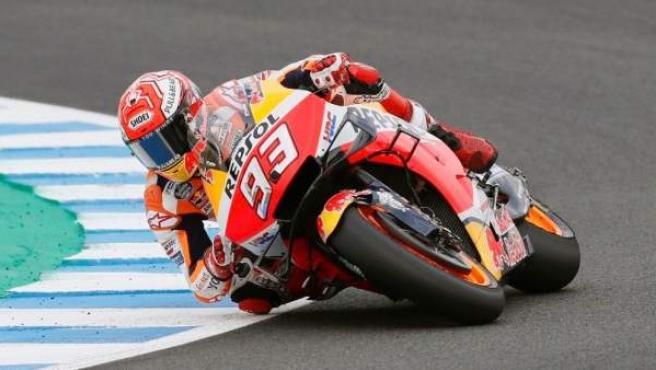Marc Márquez en el GP de España de MotoGP.