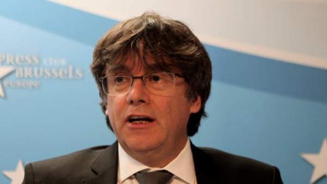 El ex presidente de la Generalitat, Carles Puigdemont.