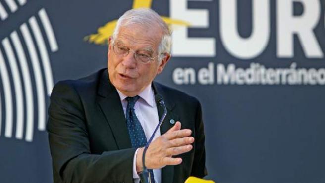 Borrell interviene en la presentación del Ciclo de Conferencias sobre Europa en la Casa del Mediterráneo.