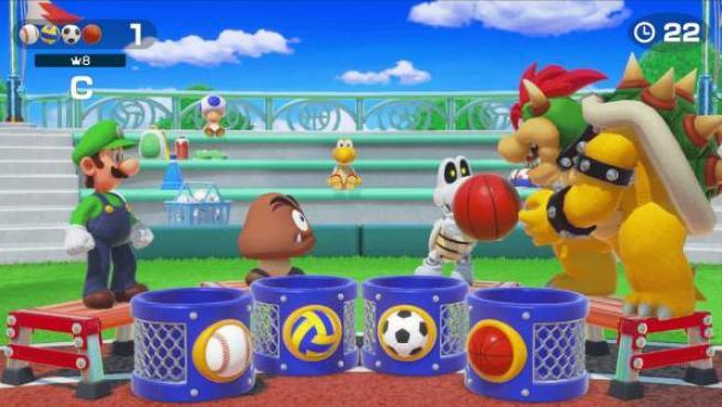 Imagen del videojuego 'Super Mario Party' para Nintendo Switch.