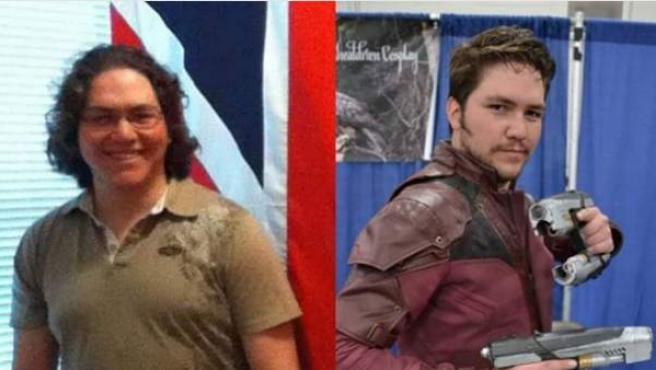 El cosplayer Skyler Pinales adelgazó 18 kilos para transformarse en Chris Pratt.