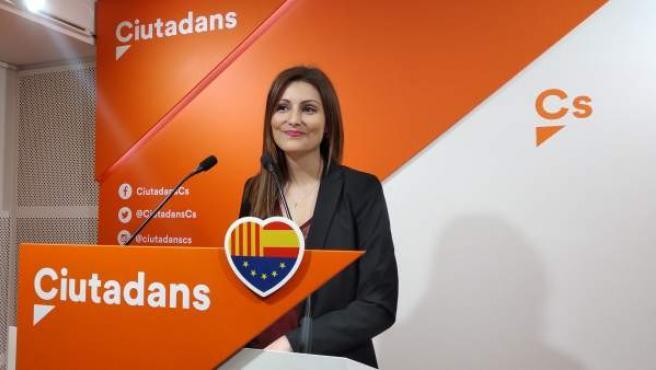 La diputada de Cs Lorena Roldán.