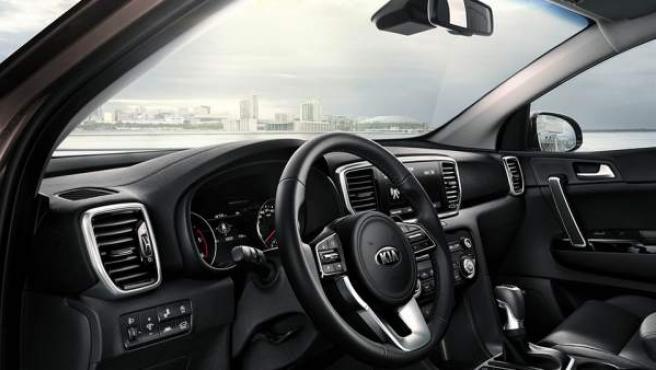 El Sportage, en su versión CRDi Mild Hybrid de 48 voltios, llega para completar la gama electrificada de Kia.