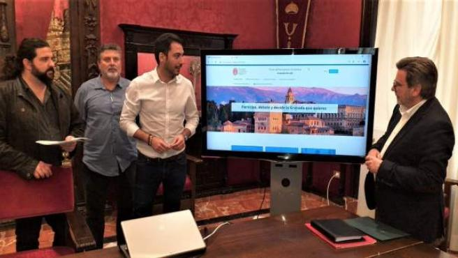Granada.- El Ayuntamiento crea un portal web de participación ciudadana