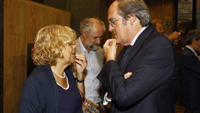 Manuela Carmena y Ángel Gabilondo