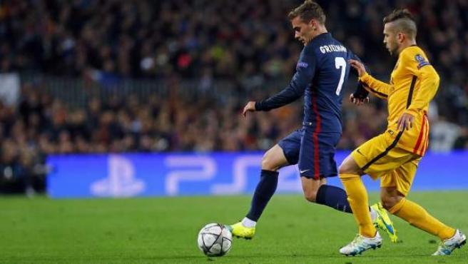 Griezmann y Jordi Alba en el FC Barcelona - Atlético de Madrid