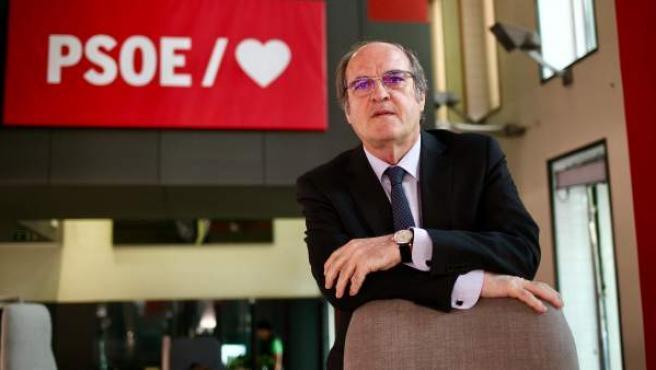 Ángel Gabilondo, candidato del PSOE a las elecciones en la Comunidad de Madrid.