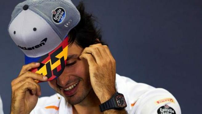El piloto español Carlos Sainz.