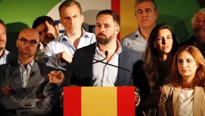 """""""Vox molesta y siguen poniendo toda su artillería contra la voz de la #EspañaViva""""."""