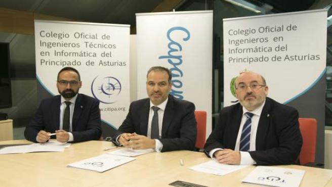 Colegios de informáticos y Capgemini colaboran para despertar la vocación ante la falta de profesionales en Asturias