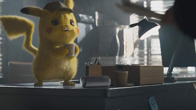 ¿Por qué 'Detective Pikachu' es adicto al café?