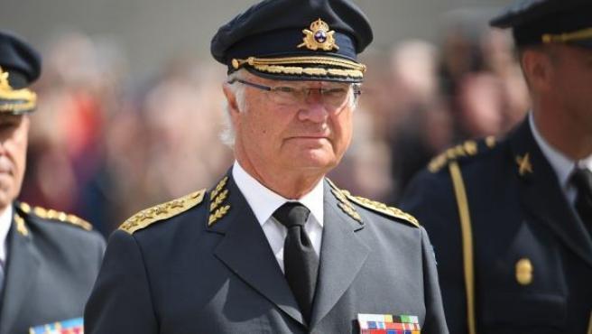 El rey Carlos Gustavo de Suecia, en abril de 2019.