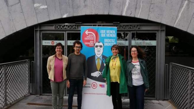 26M.- Izquierda-Ezkerra Muestra Su Compromiso Con La Enseñanza Pública Como 'Garantía De Una Formación De Calidad'
