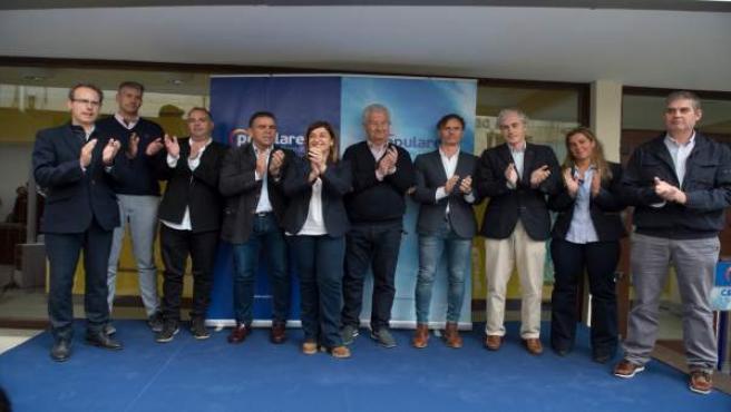 26M.- Buruaga (PP) Defiende Un Gobierno Que Mire Al Futuro Y Afronte Los Problemas 'Sin Populismos Ni Personalismos'