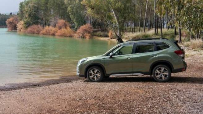 Los modelos híbridos de Subaru son capaces de circular en modo eléctrico hasta velocidades de 40 kilómetros por hora.