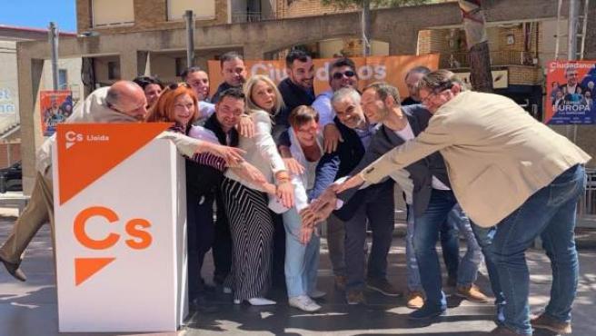 26M.- Cs Llevará A Fiscalía Al Alcalde De Alcarràs (Lleida) Por Pancartas En El Consistorio