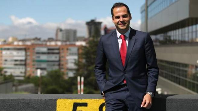 Ignacio Aguado, candidato de Cs a la Comunidad de Madrid.