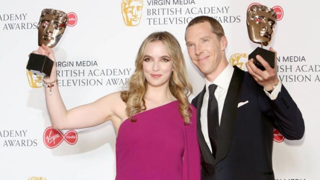 Benedict Cumberbatch y 'Killing Eve' arrasan en los BAFTA de televisión