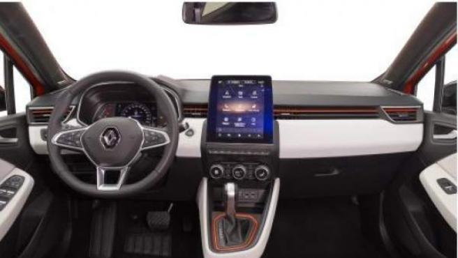 Así es el interior del nuevo Clio de Renault.