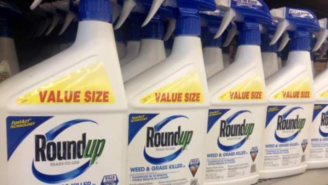 Herbicida Roundup de Monsanto (empresa propiedad ahora de Bayer), en una imagen de archivo.