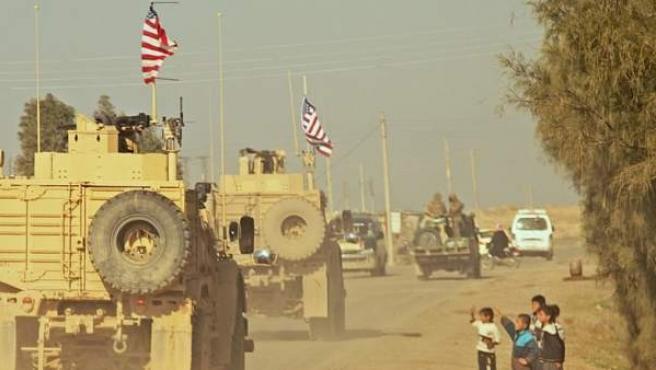 Tropas estadounidenses desplegadas en Oriente Medio.