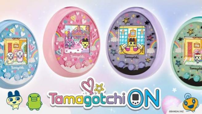 La nueva generación de Tamagotchi se puede conectar al móvil y se ve a color.