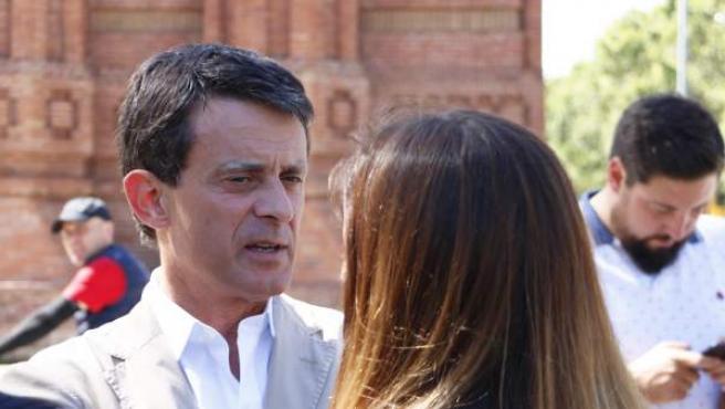 El ex primer ministro francés y candidato a la alcaldía de Barcelona, Manuel Valls.