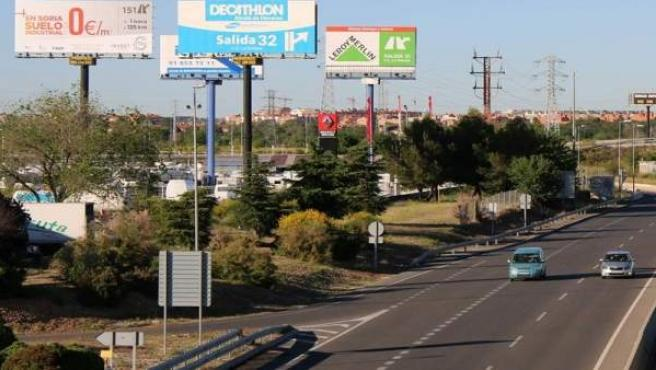 Invest in Soria promociona el suelo industrial de la provincia con dos monopostes en el Corredor del Henares