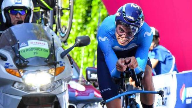 Mikel Landa, en el Giro de Italia 2019.