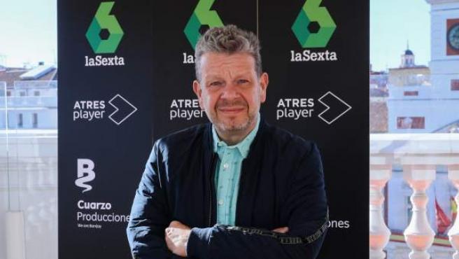 El cocinero Alberto Chicote, en su restaurante Puertalsol, en la Puerta del Sol de Madrid.