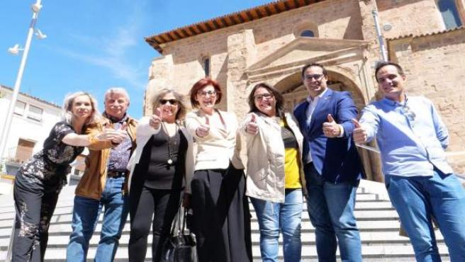 26M.- Pagazaurtundua Anima A Votar A Ciudadanos 'Para Defender El Libre Comercio De Los Productos Arnedanos En Europa'