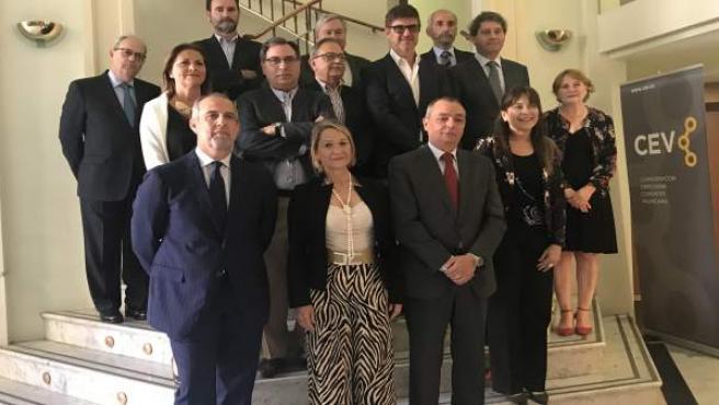 La CEV tendrá una persona permanente en Bruselas para 'presionar' como lobby y 'ser útil' a la economía de la Comunitat