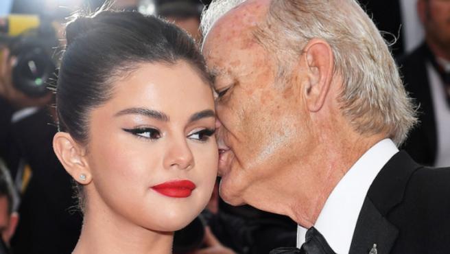 [Cannes 2019] ¿Qué le ha susurrado Bill Murray al oído a Selena Gomez?