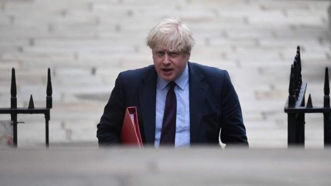 Imagen de archivo del primer ministro británico Boris Johnson.