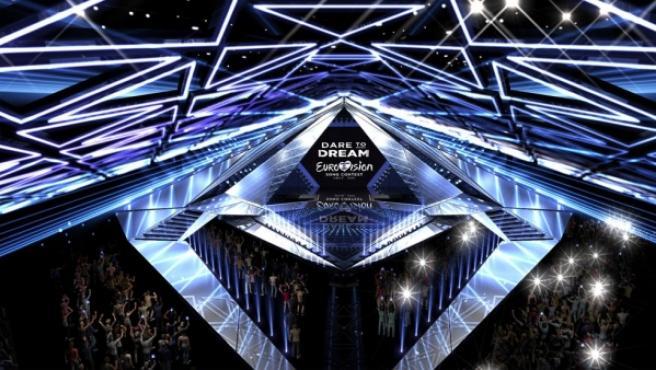 Escenario del Festival de Eurovisión 2019.