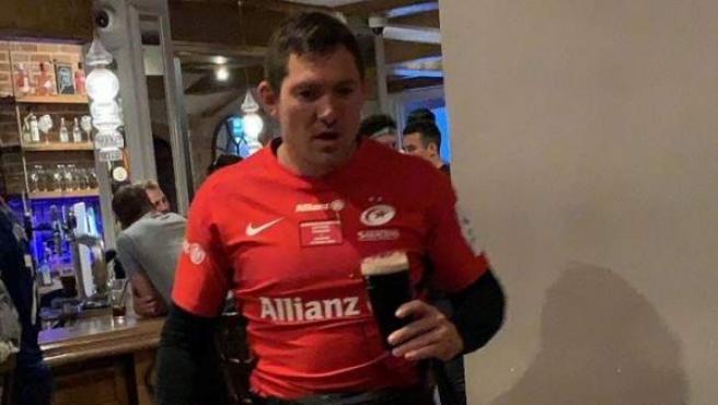 Goode, 24 horas después de conquistar la Champions de rugby