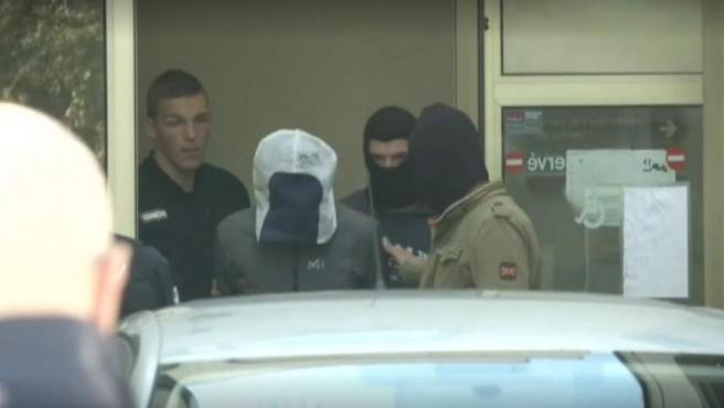 Detención de Josu Ternera, tras ser detenido en Francia.