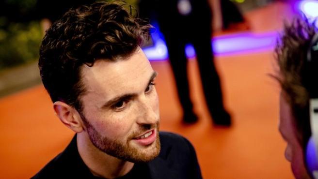Duncan Laurence, representante de Holanda en Eurovisión 2019.