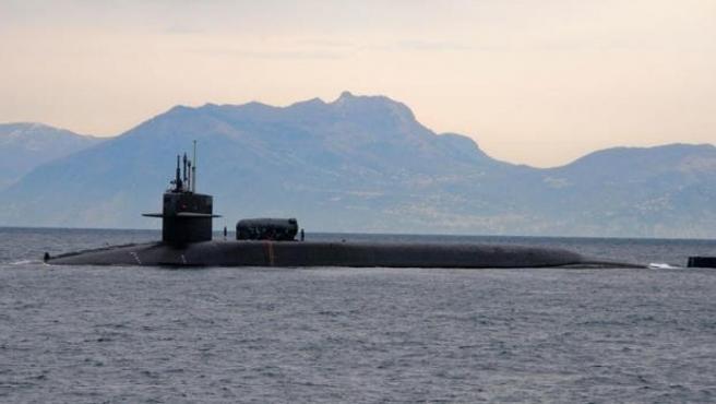 Imagen de archivo del submarino estadounidense USS Florida.