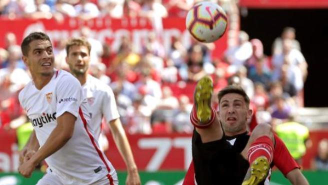 Un momento del Sevilla - Athletic.