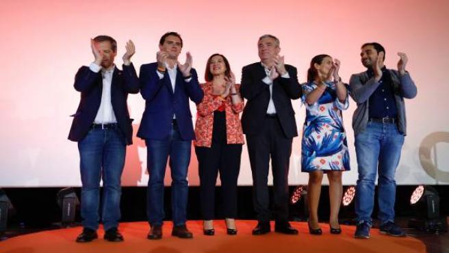 Acto de campaña de Ciudadanos en Cine Cervantes en Zaragoza