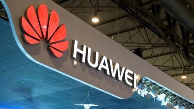 Un exhibidor de Huawei, en una imagen de archivo.