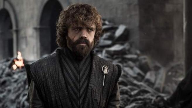 El actor Peter Dinklage, como Tyrion Lannister, durante una escena del sexto episodio de la octava temporada de la serie 'Juego de Tronos'.